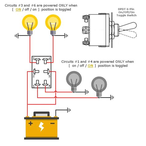6 Pin Dpdt Toggle Switch Mgi Speedware