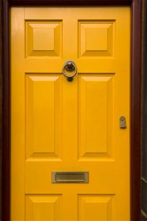 Yellow Front Doors Colors And Blue Doors On Pinterest Yellow Front Door Feng Shui