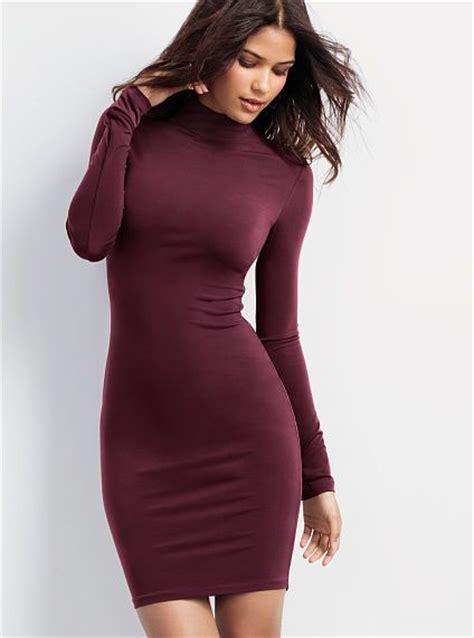 jersey turtleneck dress  chilly season wardrobe
