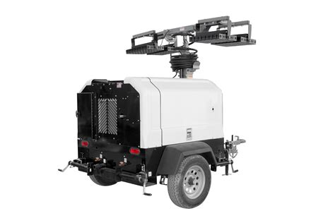 Mobile Led Light larson electronics releases mobile light tower with diesel