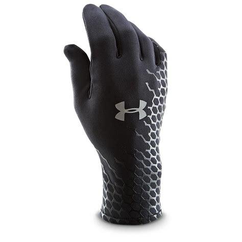 under armoir gloves under armour stretch gloves 282787 gloves mittens at sportsman s guide