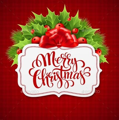 33 Christmas Letter Templates Free Psd Eps Pdf Format Download Free Premium Templates Merry Card Template