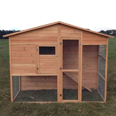 Chicken Hutch Design Seville Large Chicken Coop With Run Aviary Hen House Walk