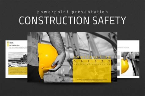 Construction Powerpoint Presentation Templates 19 Safety Presentation Designs Ppt Pptx Download
