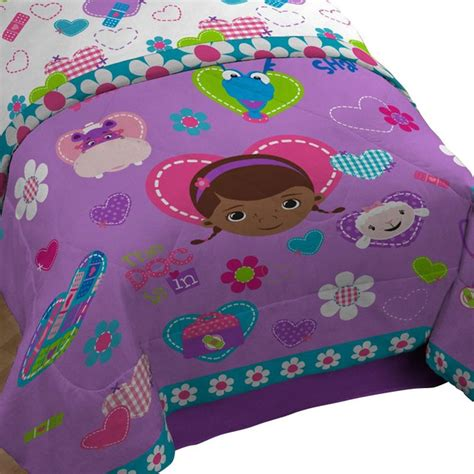 Dr Mcstuffins Bed Set Disney Doc Mcstuffins Comforter Animal Friends Bedding Contemporary Bedding By