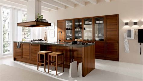 Classic Modern Kitchen Designs Interior Exterior Plan Classic Modern Kitchen In Wood