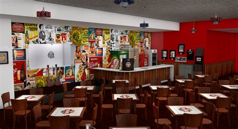 Luxo alexandre feij 243 modelagem 3d bar e restaurante sr chopp