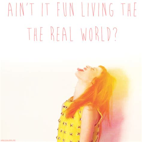 aint it fun paramore ain t it fun lyrics tumblr