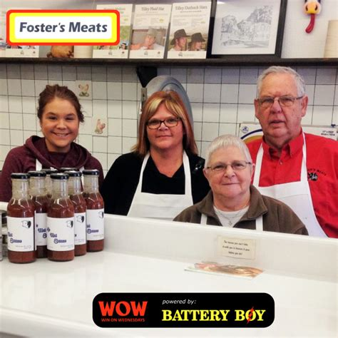 Winners From The Four Days Of The Foster Grant Pair A Day Giveaway by Wow Win A 100 Freezer Pack From Foster S Meats