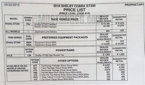 gt350 gt350r pricing