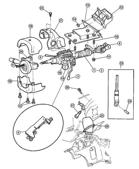 electric power steering 2012 dodge caravan spare parts catalogs parts com dodge grand caravan steering column oem imageresizertool com