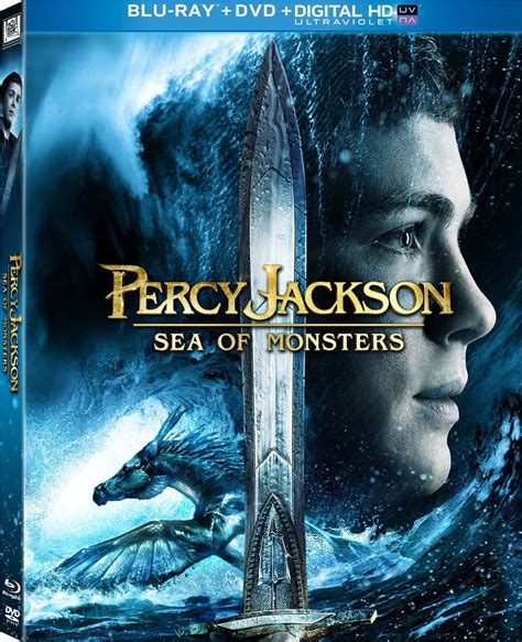 The Sea Of Monsters Cover 8 Th Anniversary Percy J Oleh Rick R percy jackson sea of monsters dvd release date december 17 2013