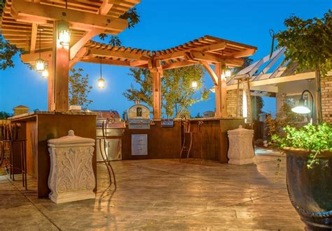 Patio Design Estimates Outdoor Kitchen