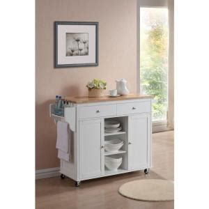 meryland white modern kitchen island cart baxton studio meryland 47 4 in w x 34 5 in h modern