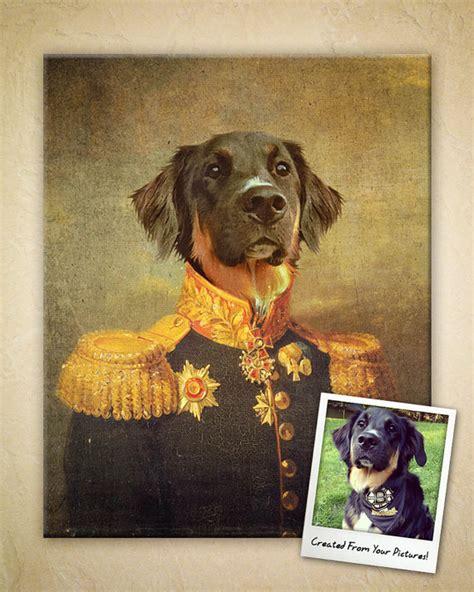 Handmade Portraits - items similar to custom digital regal pet portrait on etsy