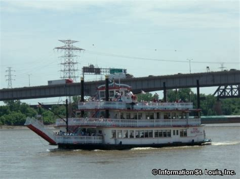 mississippi river boat cruise st louis gateway arch riverboat cruises in st louis city