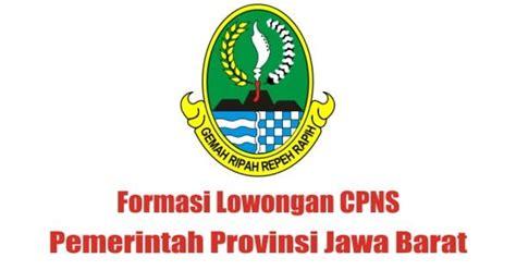 formasi lowongan cpns pemprov jabar cpns indonesia