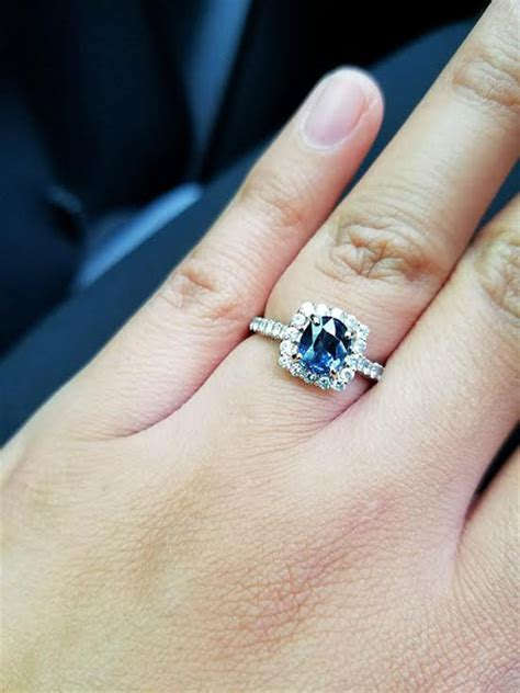 color engagement rings rings posts weddingbee