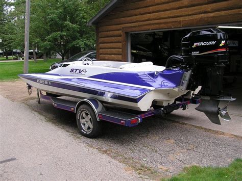 fast jon boat ready to get her wet race boats boat fast boats
