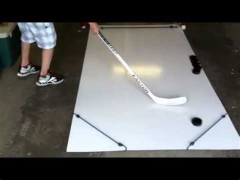 do it yourself diy sports changing rooms homemade hockey skill pad youtube