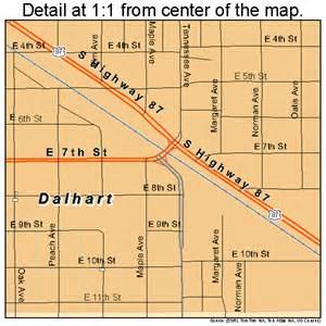 dalhart map 4818524
