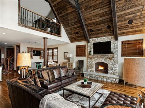 rustic livingroom rustic modern living room furniture