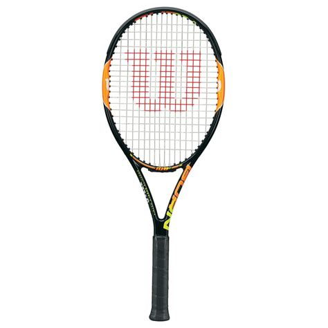 wilson burn 100 team tennis racket mdg sports racquet