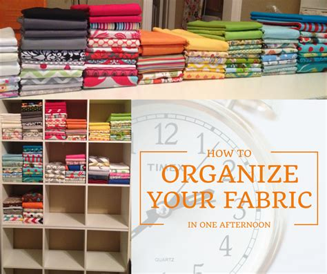 organize your organize your fabric stash in one afternoon rainbowtized