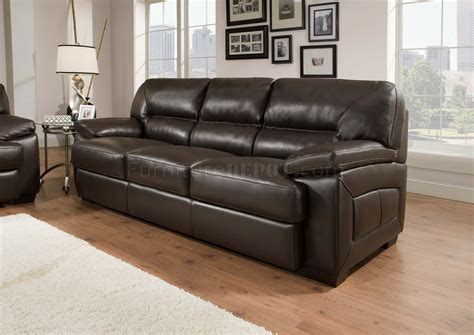 Top Grain Leather Sofa Set Truffle Brown Top Grain Leather Modern Sofa Loveseat Set