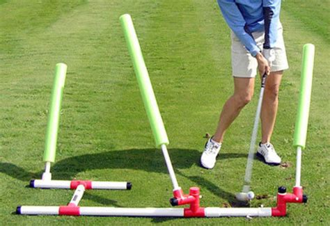 golf swing training tools deluxe swing plane trainer golf training aid ebay