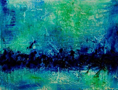 blue green paint yessy gt abstract art by sharon cummings gallery gt opal essence blue green painting