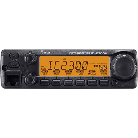 Icom 2300h by Ic 2300h Vhf Fm Mobile Transceiver Features Icom America