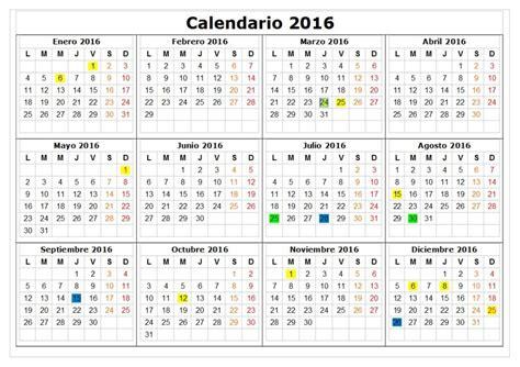 calendario laboral mexico 2016 calendario laboral 2016 1 printable 2018 calendar free