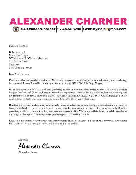 cover letter magazine choice image cover letter sle