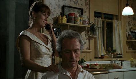 bridges of madison county bathtub scene romantic pang for anything or anybody