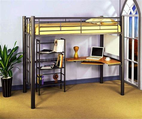 loft bed with desk for best ikea loft beds for and adults bedroom ideas