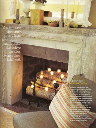 Candle Fireplace Inserts by 17 Best Ideas About Candles In Fireplace On