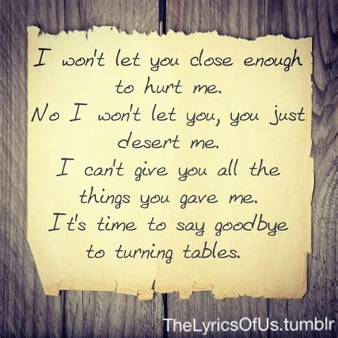 Tables Turned Lyrics by 25 Best Ideas About Adele Lyrics On Adele