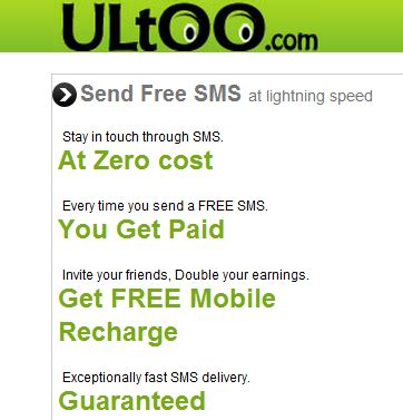 Send Free Anonymous Sms Messages With Mailsting by Ultoo Send Free Sms N Get Recharge Earnonline
