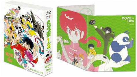Lucky 2 5 Rumiko Takahashi Set 3 crunchyroll japanese bluray boxed set for quot ranma 1 2 quot oavs announced