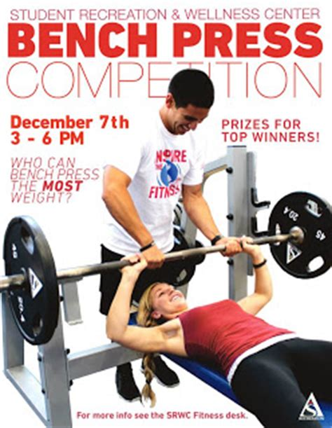 upcoming bench press competitions recreation at the beach srwc hosts 1st annual bench press