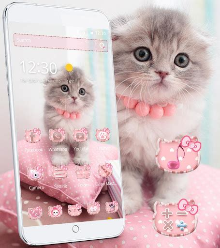 cute kitty themes apk download pink cute kitty cat theme for pc