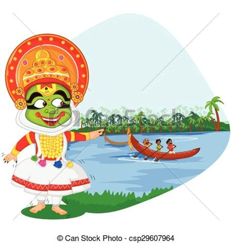 onam boat drawing kerala clipart clipground