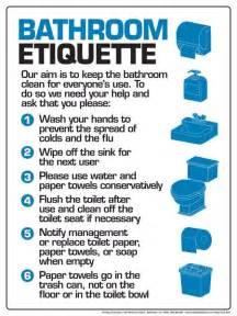 Bathroom Etiquette For Work Work Etiquette Quotes Quotesgram By Quotesgram Places