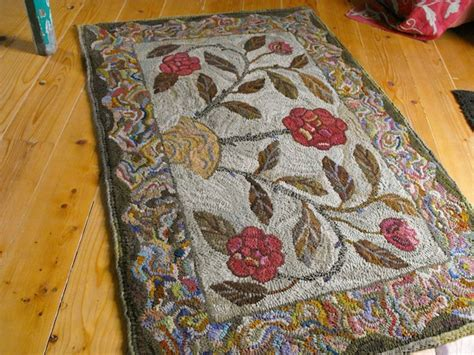 rug hooking primitivespirit