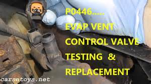 P0449 Buick Rendezvous How To Test And Replace Evap Canister Vent Valve