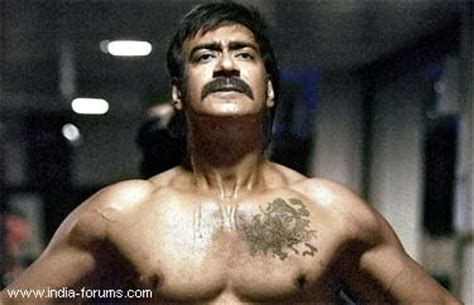 tattoo on ajay devgan neck ajay devgan s tattoos and meanings