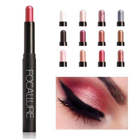 Eye Shadow Pensil Wardah focallure eyeshadow pencil highlighter makeup pen