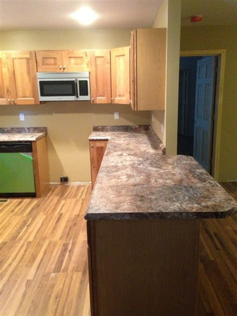 Knotty Oak Kitchen Cabinets rustic knotty oak