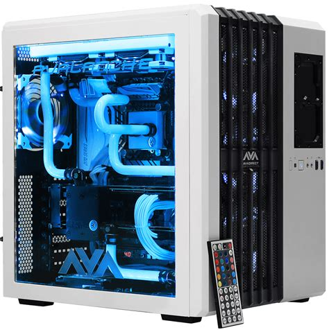 Custom Pc avalanche ii hardline liquid cooled gaming computer avadirect